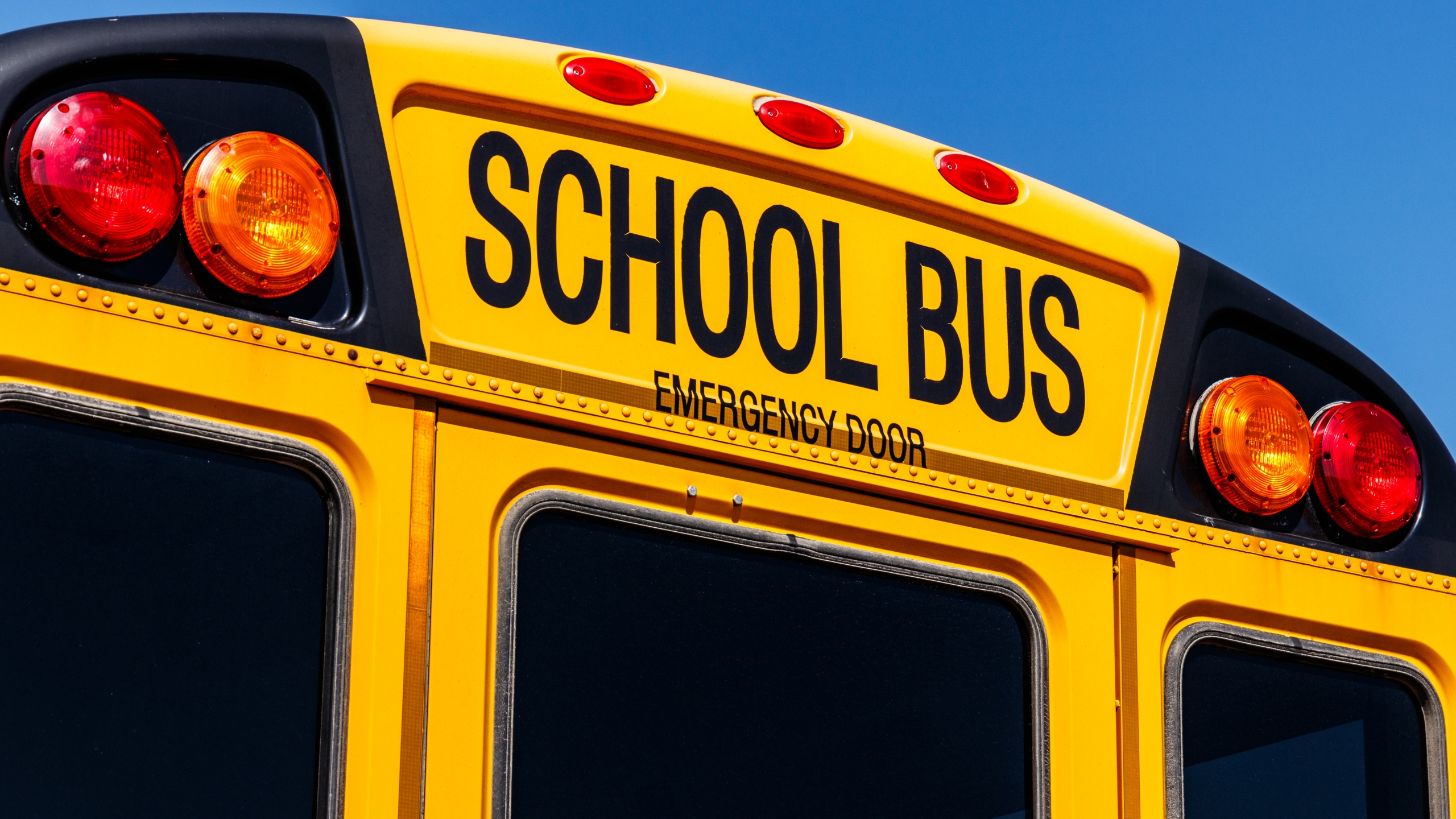 A school bus is shown in a file image. (Credit: iStock / Getty Images Plus)