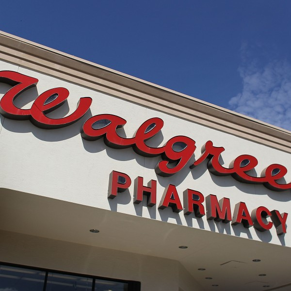 A sign is seen at a Walgreens store on Feb. 17, 2010, in Homestead, Fla. (Credit: Joe Raedle/Getty Images)