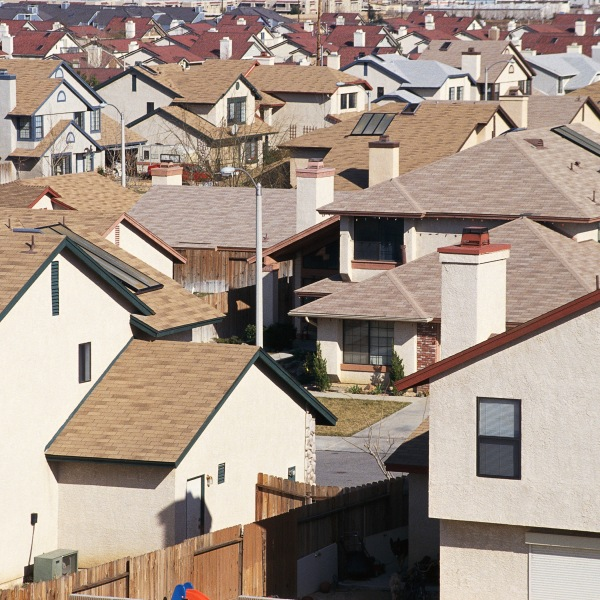 Homes in Southern California are seen in this file photo. (Credit: iStock / Getty Images Plus)