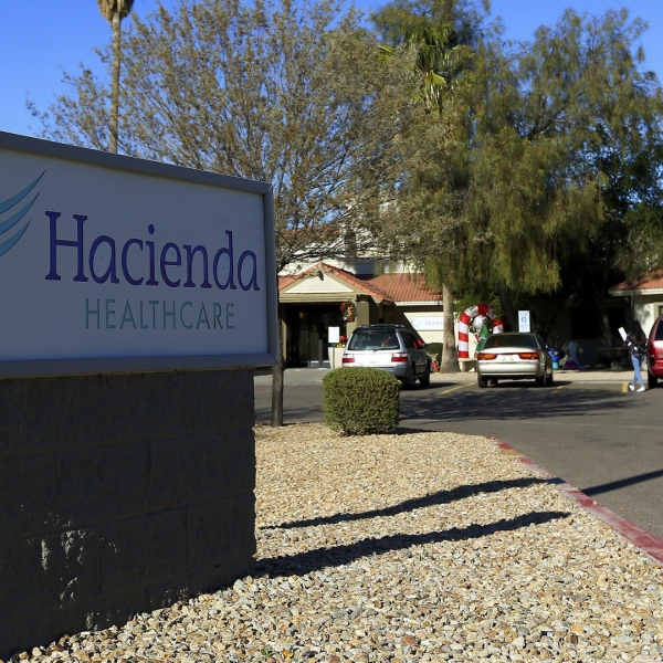 An investigation is underway at Hacienda Healthcare in Phoenix after a patient who has been in a vegetative state for over a decade recently gave birth there. (Credit: Ross D. Franklin/AP)