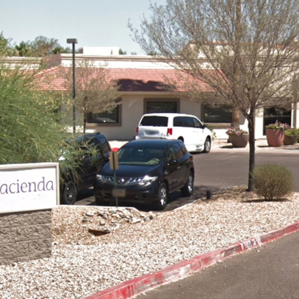 The Hacienda HealthCare facility is seen in a photo from Google Maps.
