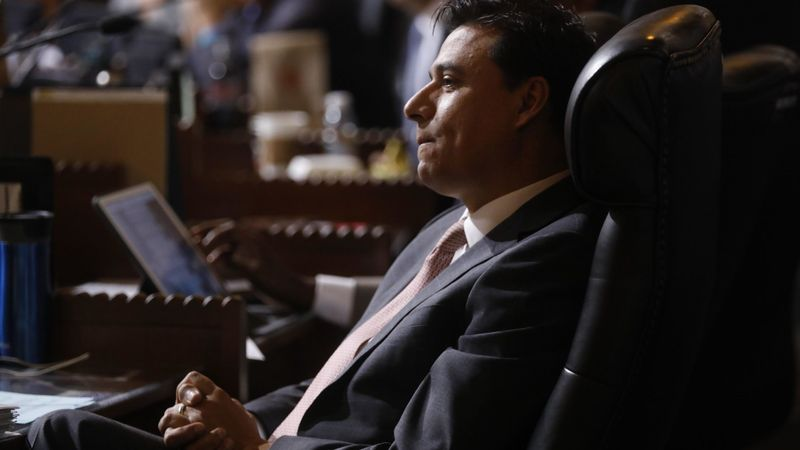 Councilman Jose Huizar is shown in this undated photo. (Credit: Genaro Molina / Los Angeles Times)