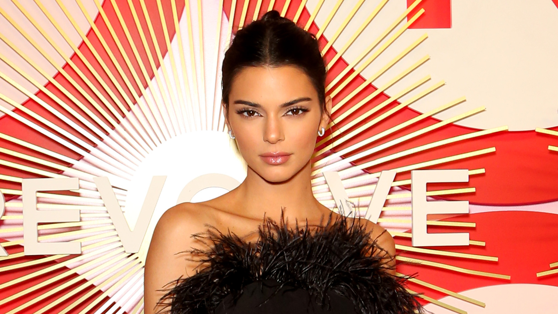 Model and television personality Kendall Jenner attends Revolve's second annual #REVOLVEawards at Palms Casino Resort on Nov 9, 2018 in Las Vegas. (Credit: Gabe Ginsberg/Getty Images)