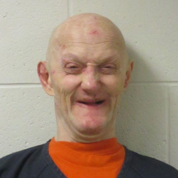 This booking photo of Duane Arden Johnson was released by the Brown County Sheriff's Office.