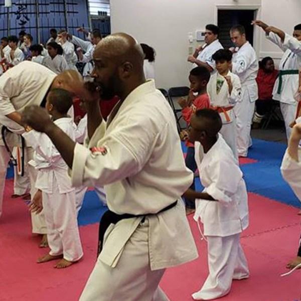 Karate head instructor Randall Ephraim fought off a man who tried to kidnap a woman.(Credit: Bushiken Karate Charlotte Dojo)