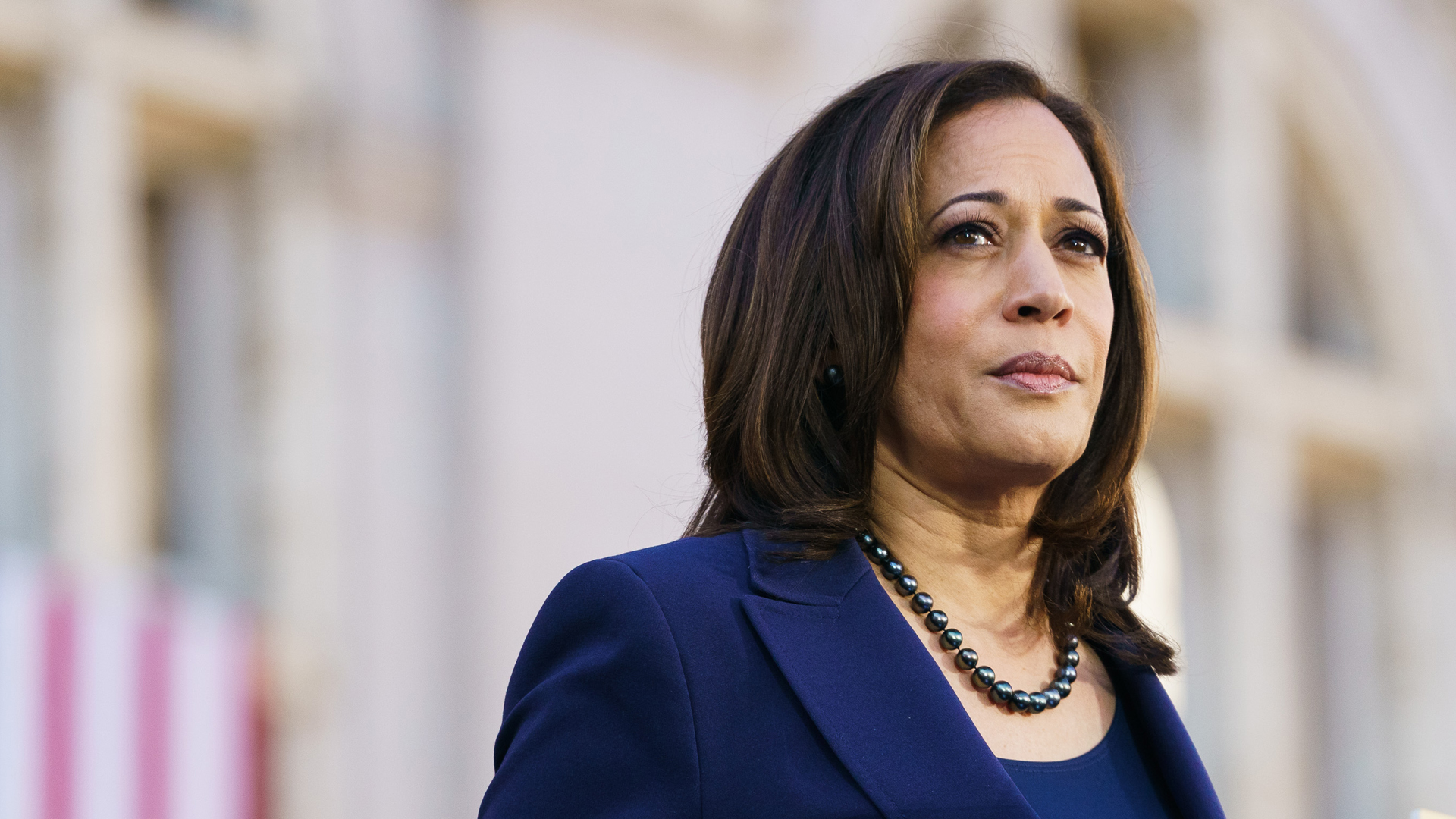 Sen. Kamala Harris (D-CA) speaks to her supporters during her presidential campaign launch rally in Frank H. Ogawa Plaza on Jan. 27, 2019, in Oakland, California. (Credit: Mason Trinca/Getty Images)