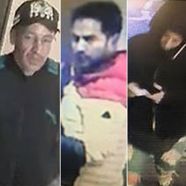 The Los Angeles Sheriff's Department released these images of five people detectives believe hacked into ATMs in Marina del Rey in November 2018.