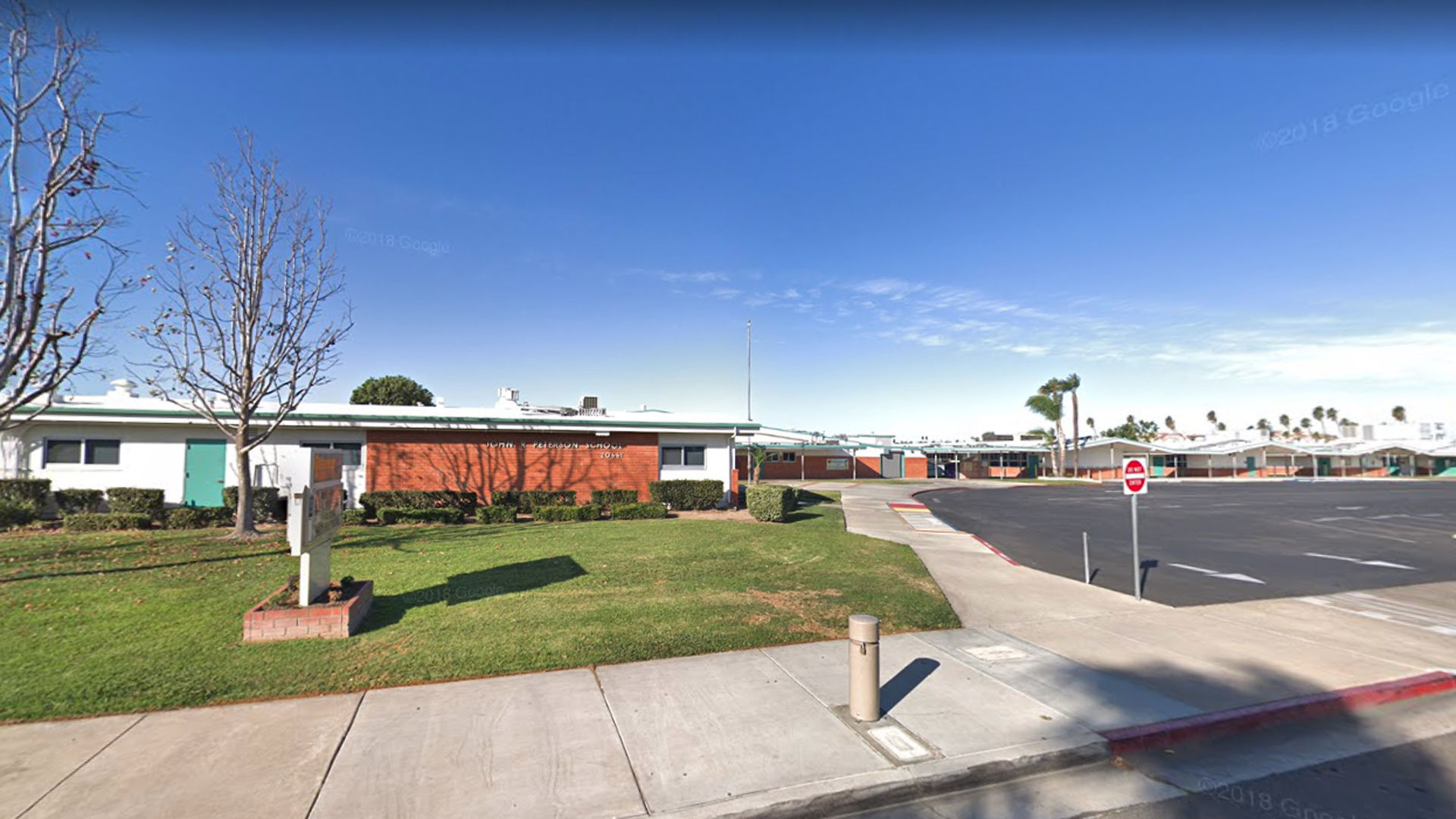 John R. Peterson Elementary School in Huntington Beach is seen in this undated image from Google Maps.