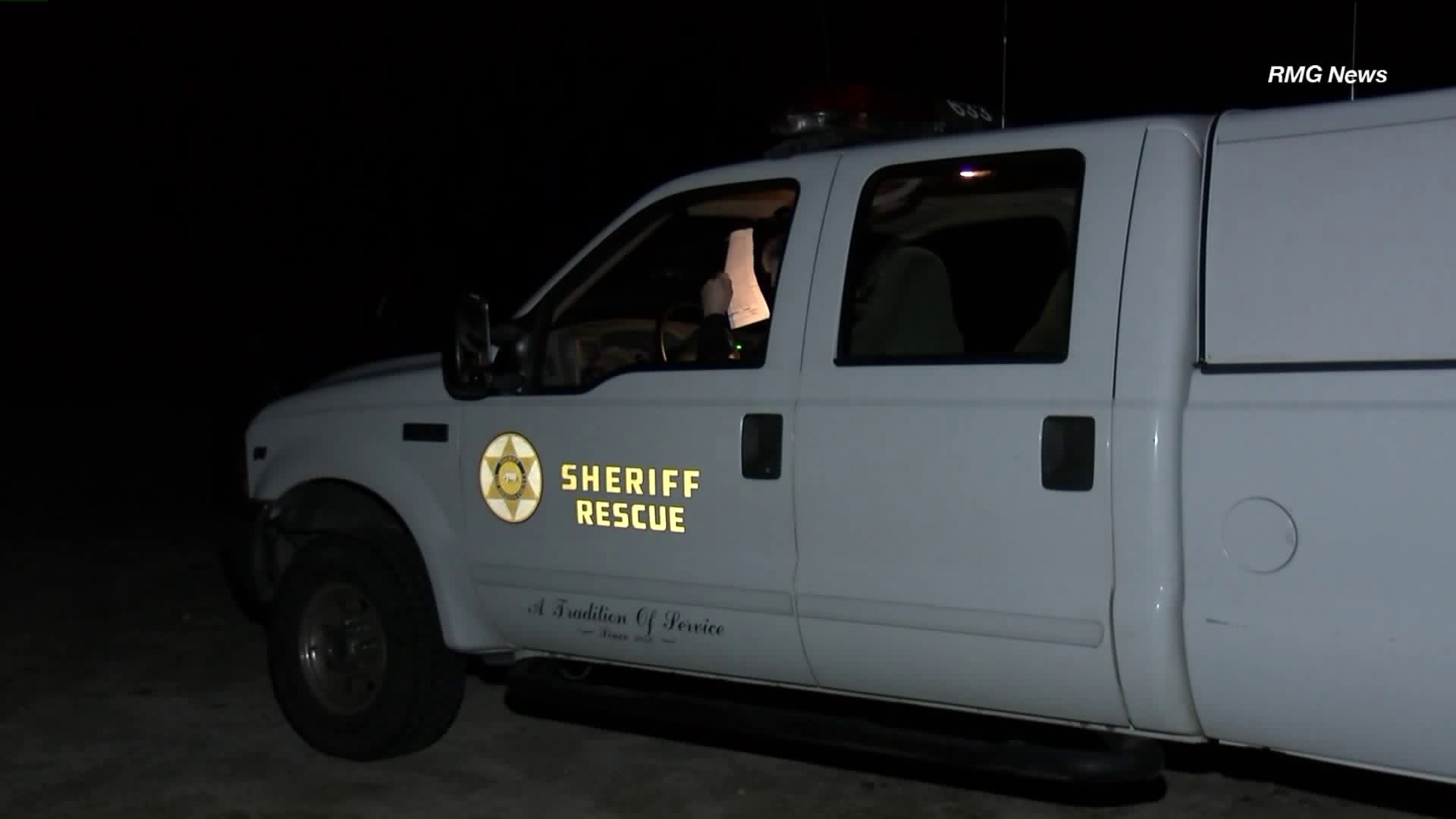 A search and rescue team was looking for a 58-year-old man in Angeles National Forest on Jan. 21, 2019. (Credit: RMG News)