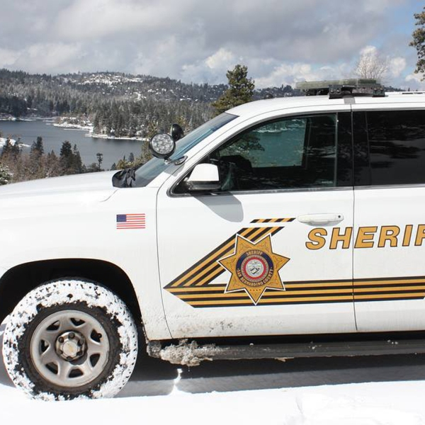 A San Bernardino County Sheriff's Department vehicle is seen in a file photo from the agency.