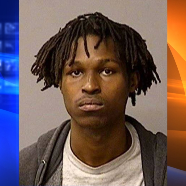 Seth Becknel is seen in a booking photo released by Modesto police.