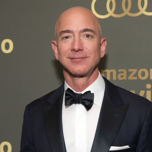 Amazon CEO Jeff Bezos attends the Amazon Prime Video's Golden Globe Awards After Party at The Beverly Hilton Hotel on January 6, 2019. (Credit: Emma McIntyre/Getty Images)