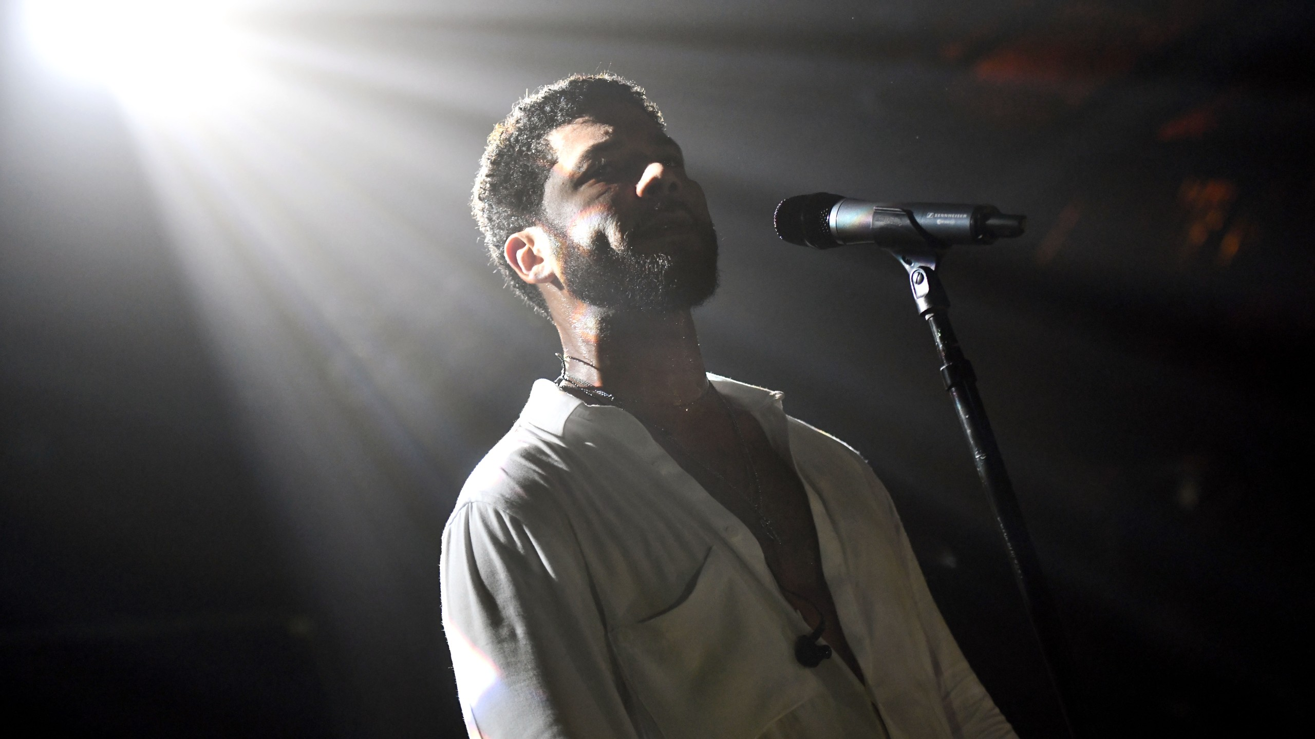 Jussie Smollett performs at the Troubadour on Feb. 02, 2019 in West Hollywood. (Credit: Scott Dudelson/Getty Images for ABA)