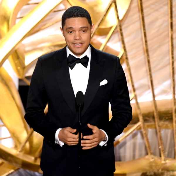 Trevor Noah speaks onstage during the 91st Annual Academy Awards at Dolby Theatre on February 24, 2019 in Hollywood, California. (Credit: Kevin Winter/Getty Images)