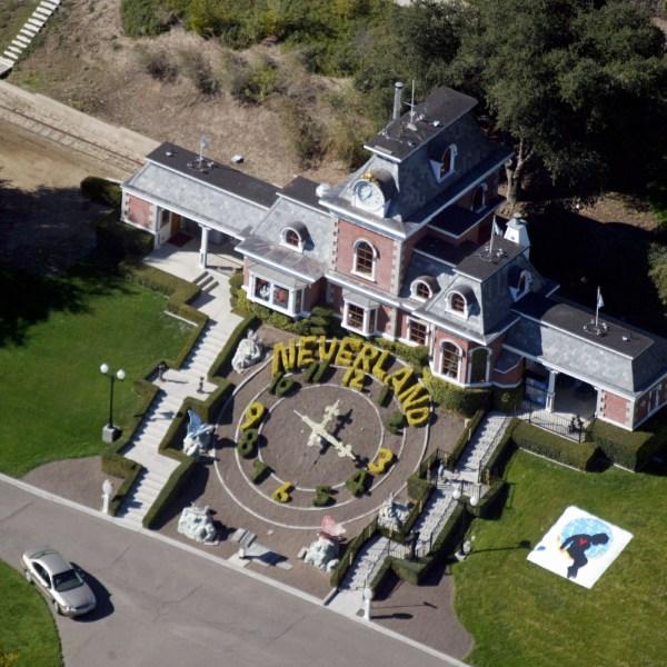 Michael Jackson's Neverland Ranch is shown November 18, 2003 outside of Santa Barbara, California. (Credit: Frazer Harrison/Getty Images)