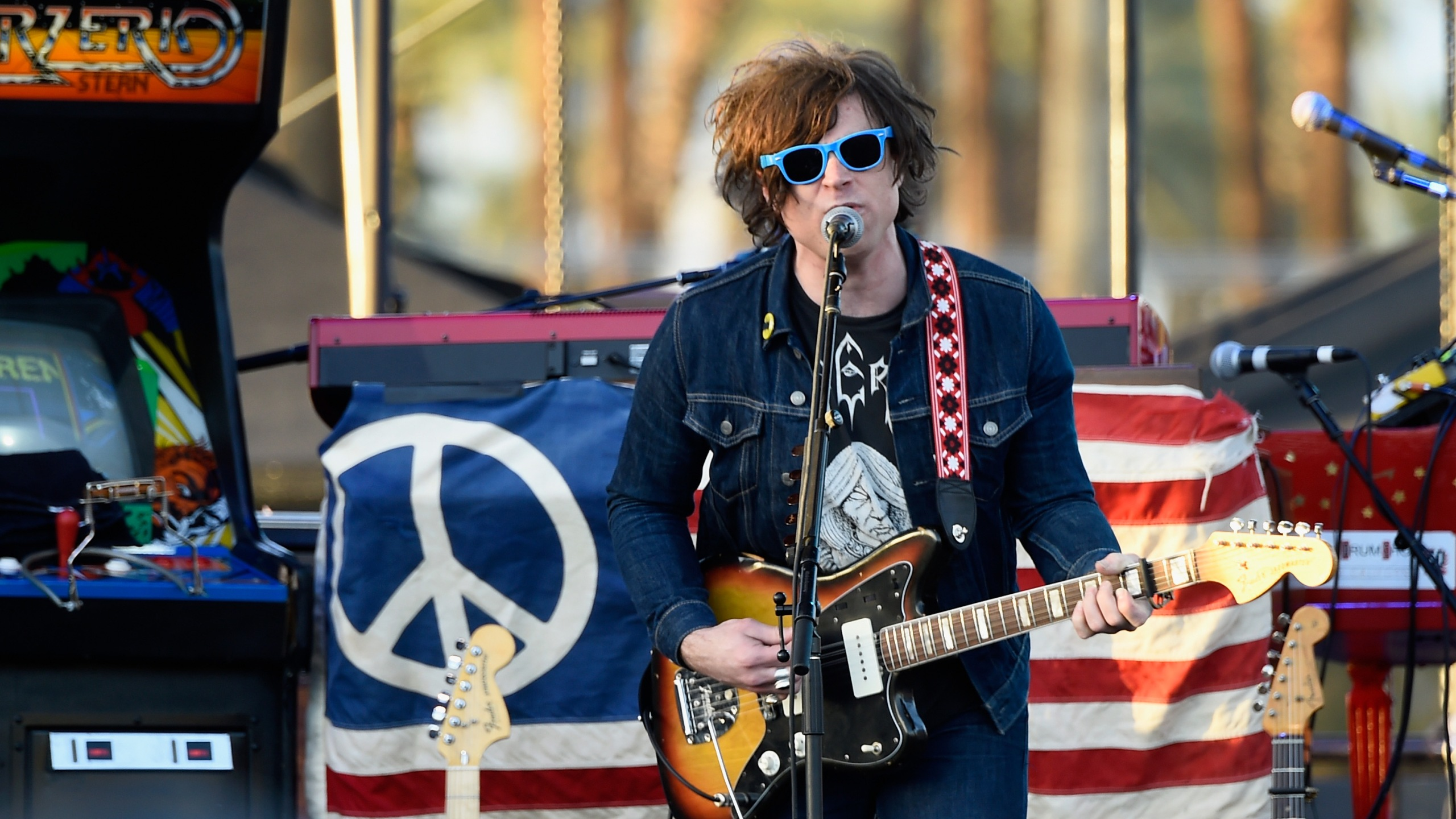 Singer-songwriter Ryan Adams performs during day three of the 2015 Coachella Valley Music & Arts Festival in Indio. (Credit: Frazer Harrison / Getty Images for Coachella)