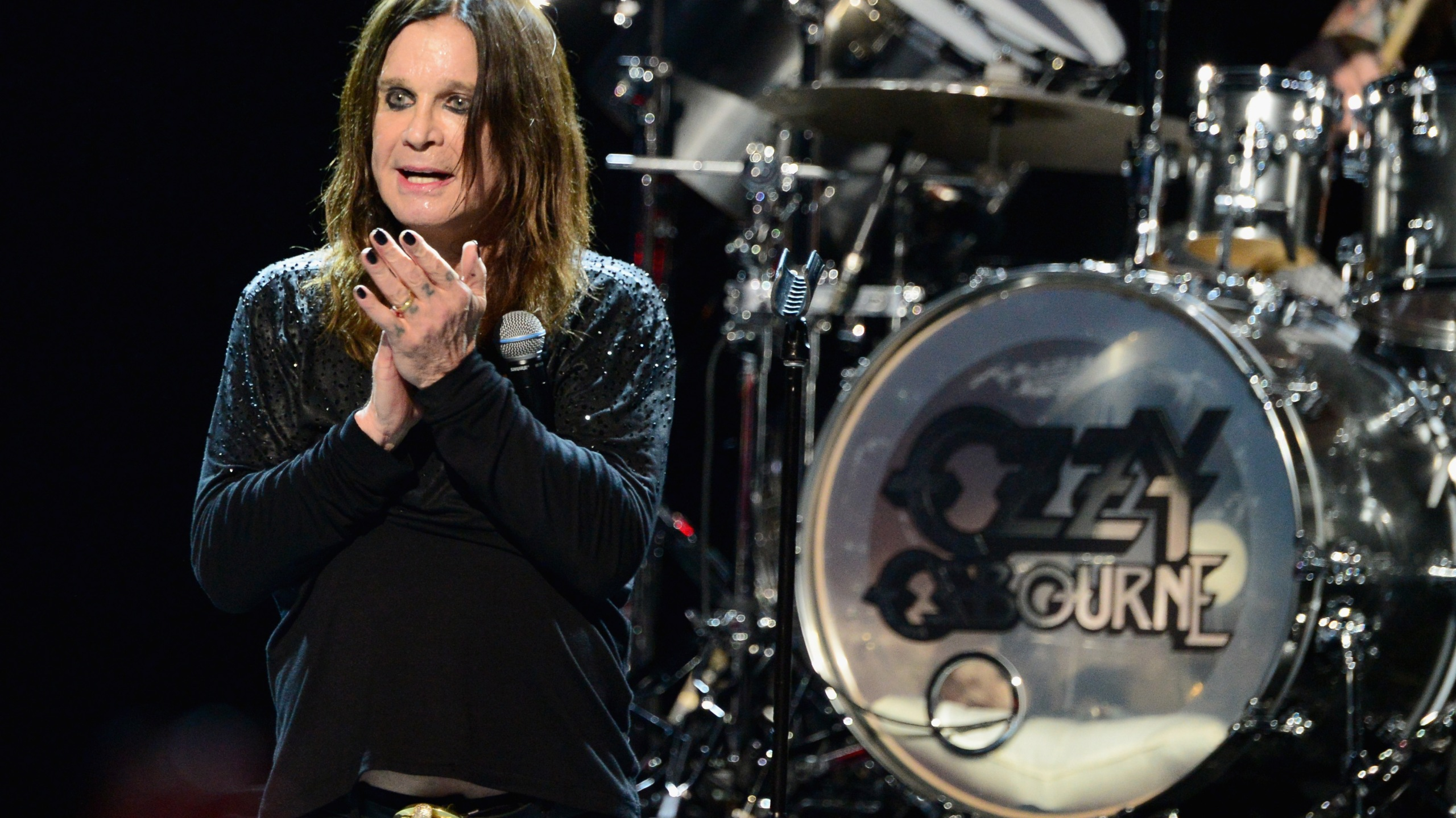 Musician Ozzy Osbourne performs onstage at the 10th annual MusiCares MAP Fund Benefit Concert at Club Nokia on May 12, 2014 in Los Angeles. (Credit: Frazer Harrison/Getty Images)
