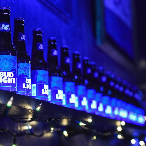 Bud Light is seen in a file photo. (Credit: Erika Goldring/Getty Images for Bud Light)