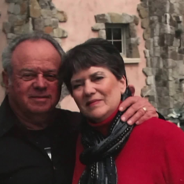 Erwin and Linda Goldbloom are seen in an undated photo provided by Erwin on Feb. 8, 2019.