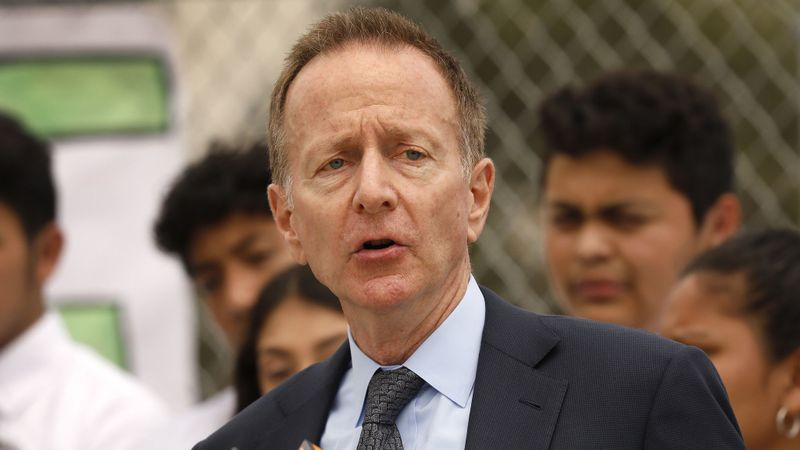 Austin Beutner, superintendent of the Los Angeles Unified School District, is seen in this undated photo. (Al Seib / Los Angeles Times)