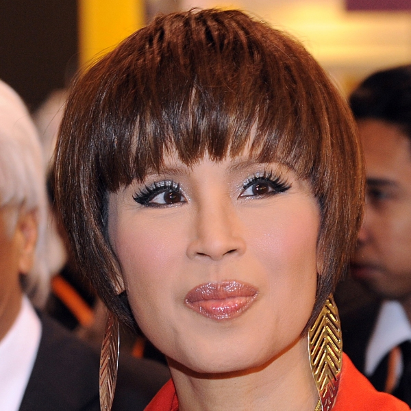 Thailand's Princess Ubolratana Rajakanya visits the Thailand pavilion at the Hong Kong Entertainment Expo on March 24, 2010. (Credit: MIKE CLARKE/AFP/Getty Images)