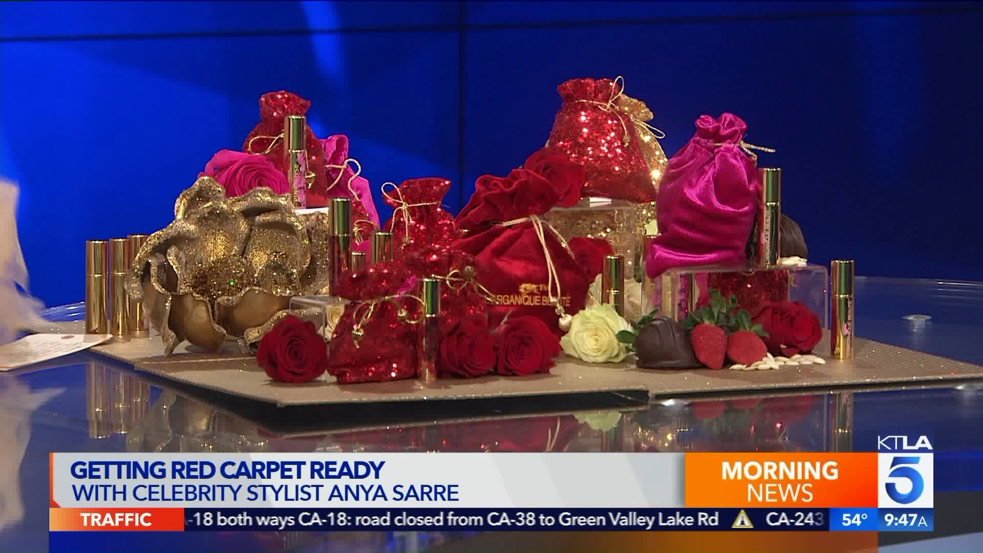 Getting Red Carpet Ready With Celebrity Stylist Anya Sarre Sunday Ktla