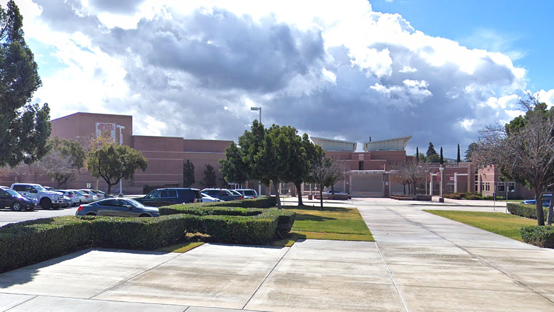 Redlands East Valley High School is seen in this image from Google Maps.