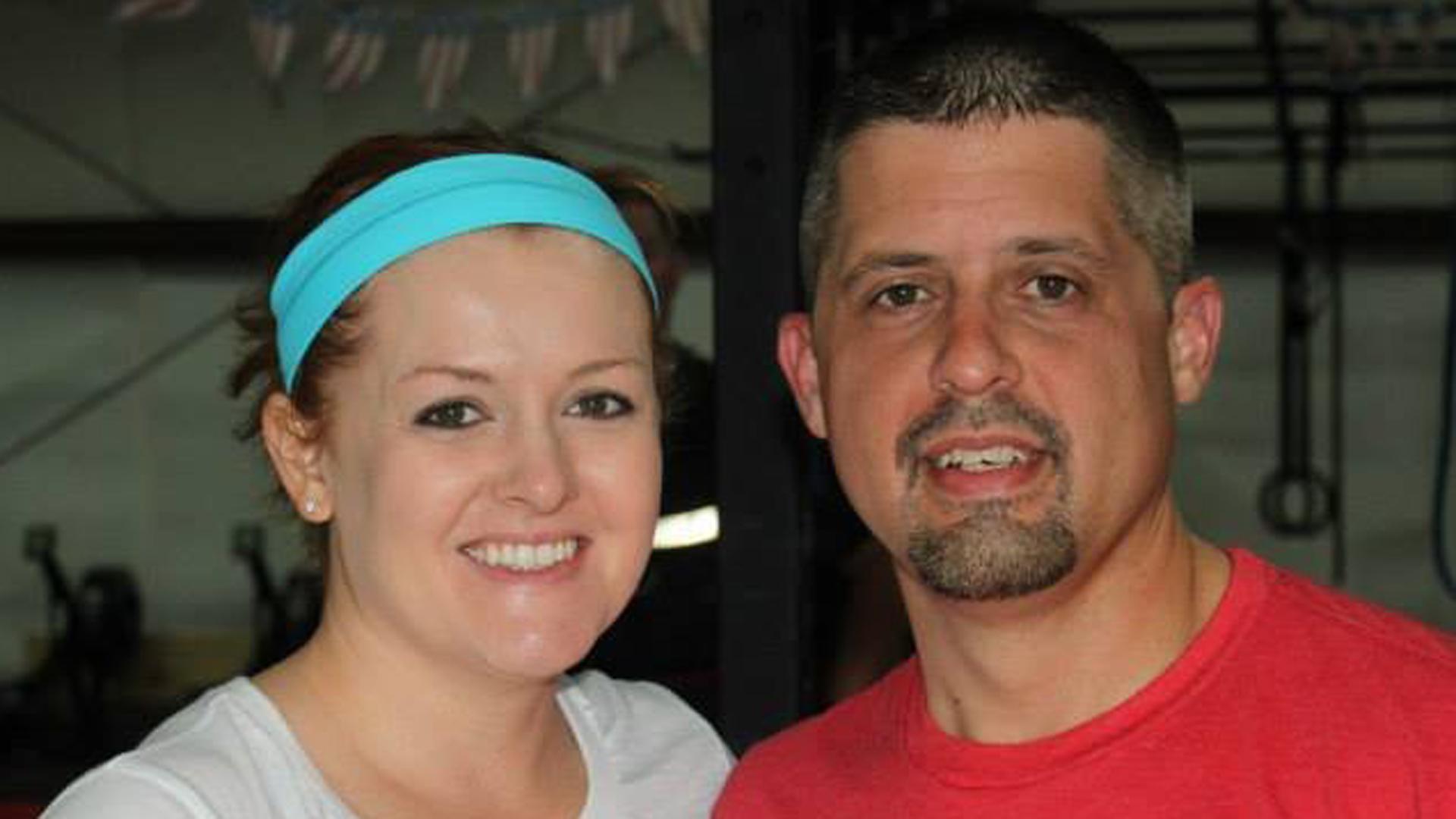 Terra and Josh Pinkard appear in an undated photo found on Facebook. (Credit: Facebook via CNN)