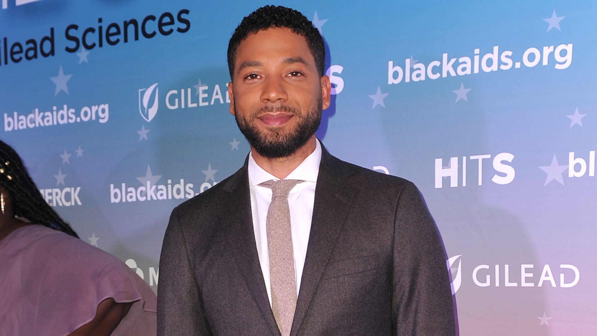 Jussie Smollett attends the Black AIDS Institute's 2018 Heroes in The Struggle Gala at California African American Museum on Dec. 1, 2018, in Los Angeles. (Credit: Rachel Luna/Getty Images)