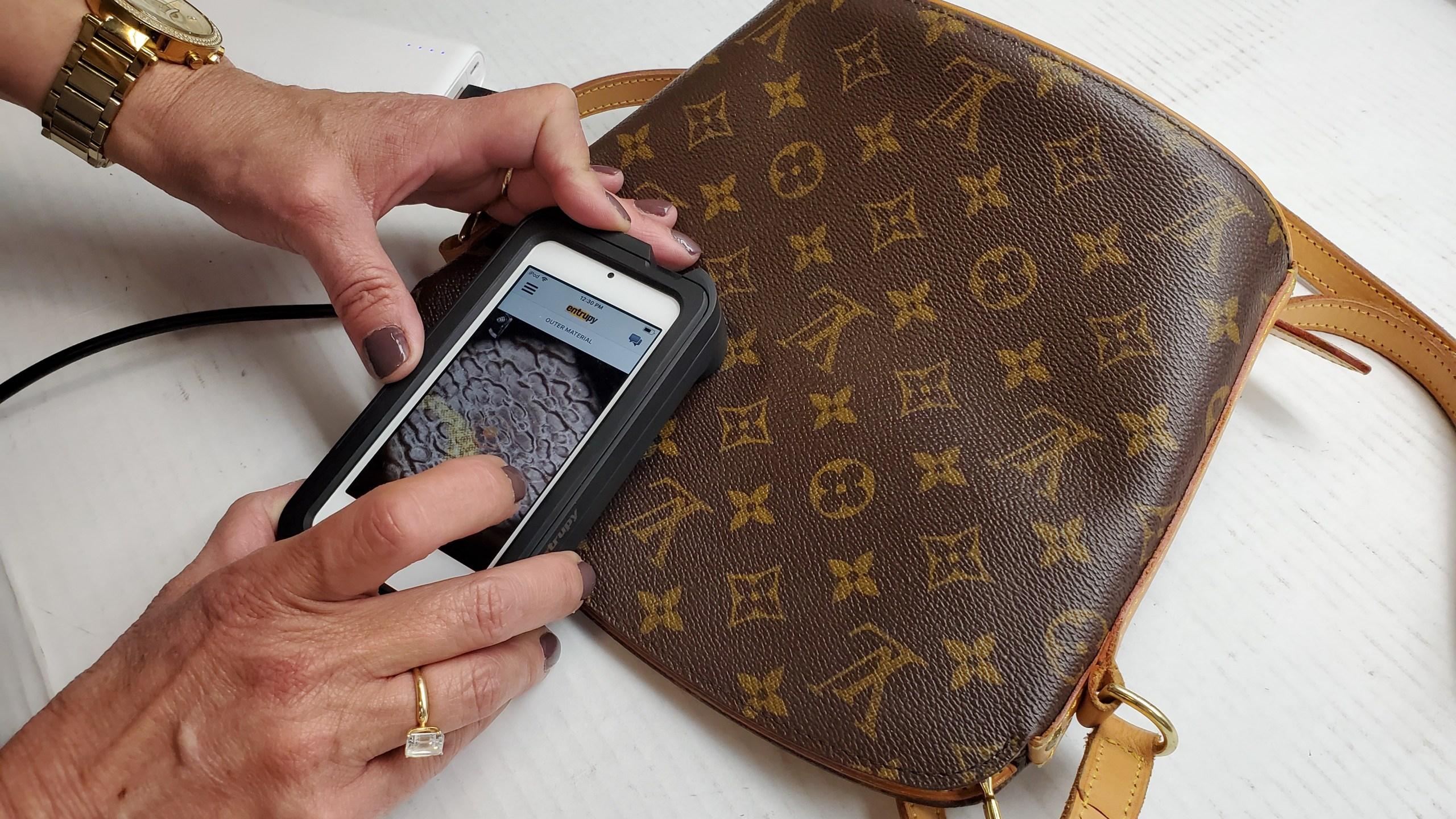 goodwill entrupy counterfeit purses