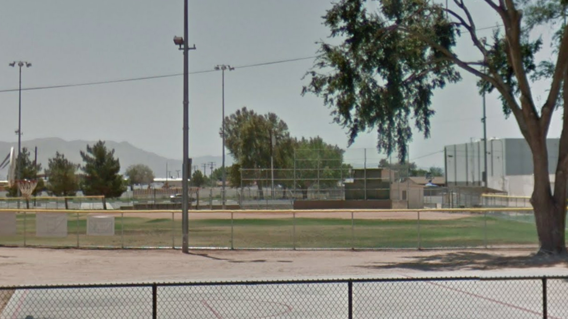 A Little League field at James Woody Park is seen in this street view image from Google Maps.