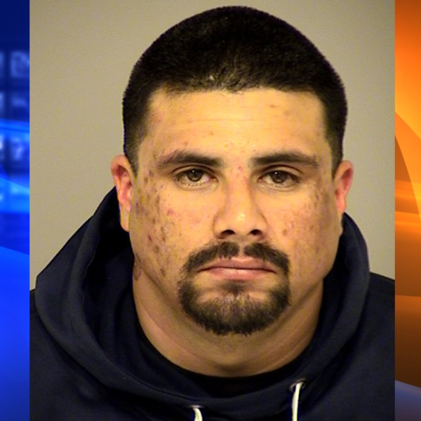 Eric Manzano, 32, appears in an undated photo provided by the Ventura County Sheriff's Office on March 4, 2019.