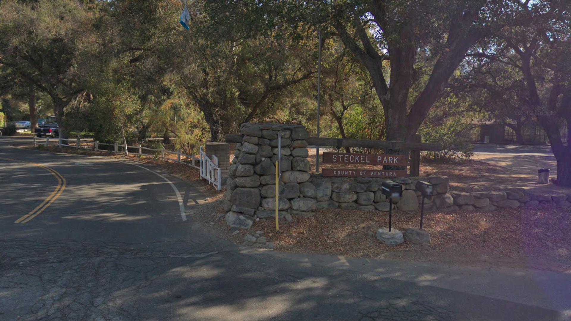 Steckel Park, 8080 Mistletoe Road in Santa Paula, pictured in a Google Street View image in November of 2018.