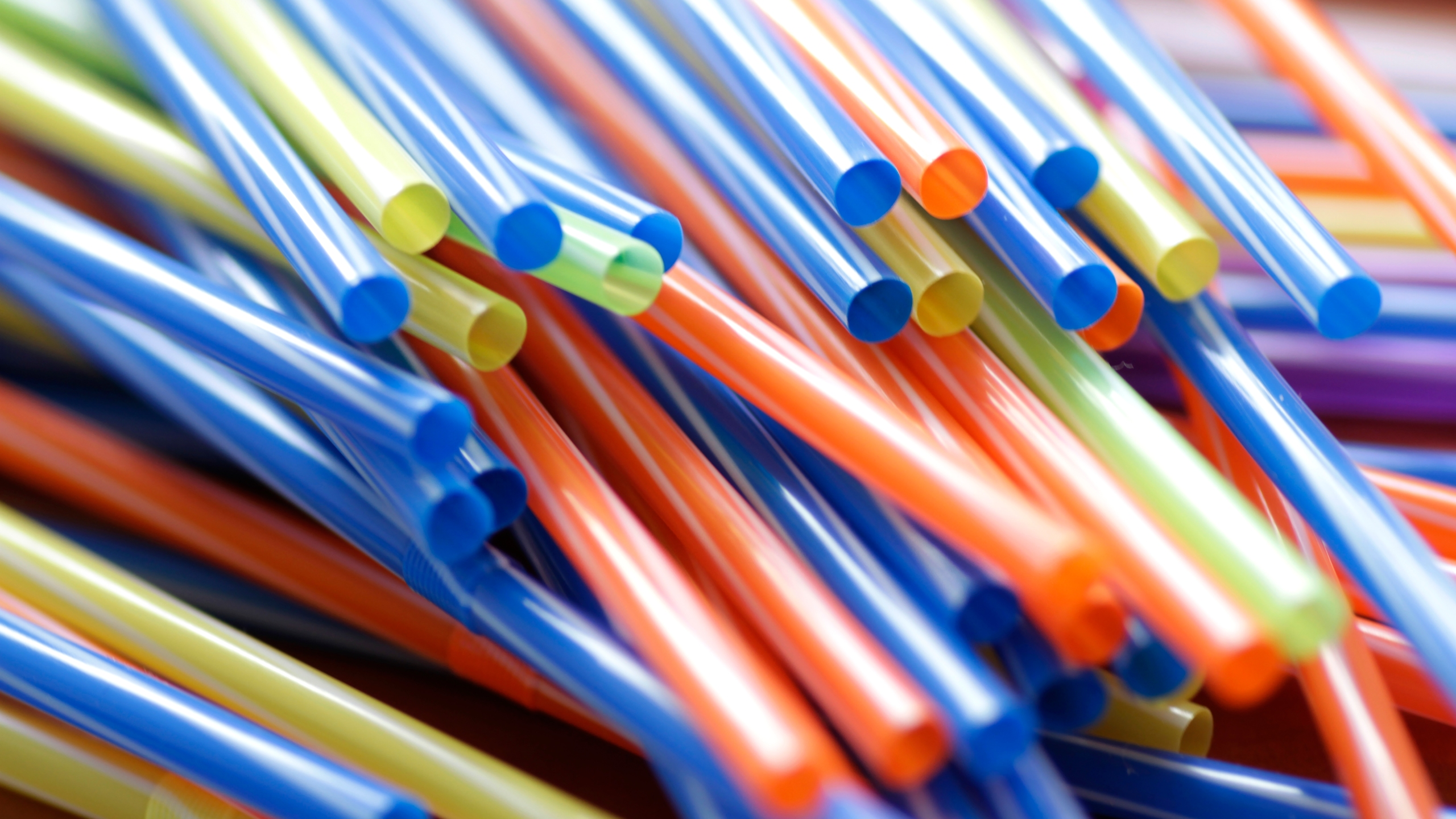 Plastic straws are seen in a file photo. (Credit: iStock / Getty Images Plus)