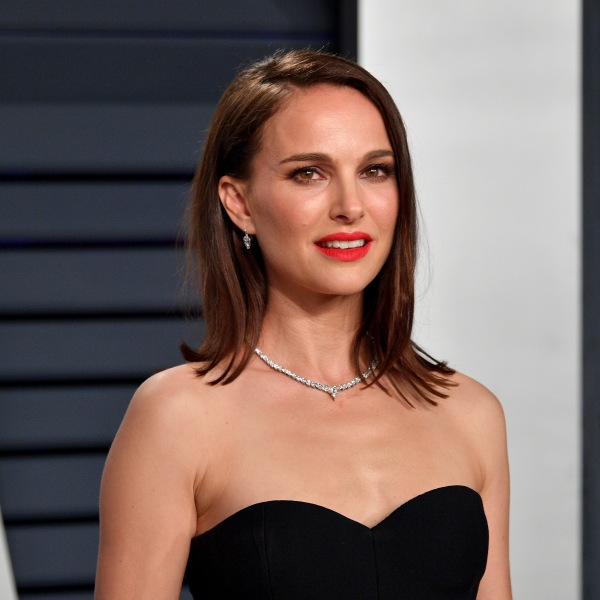 Natalie Portman attends the 2019 Vanity Fair Oscar Party hosted by Radhika Jones at Wallis Annenberg Center for the Performing Arts on Feb. 24, 2019, in Beverly Hills. (Credit: Dia Dipasupil/Getty Images)