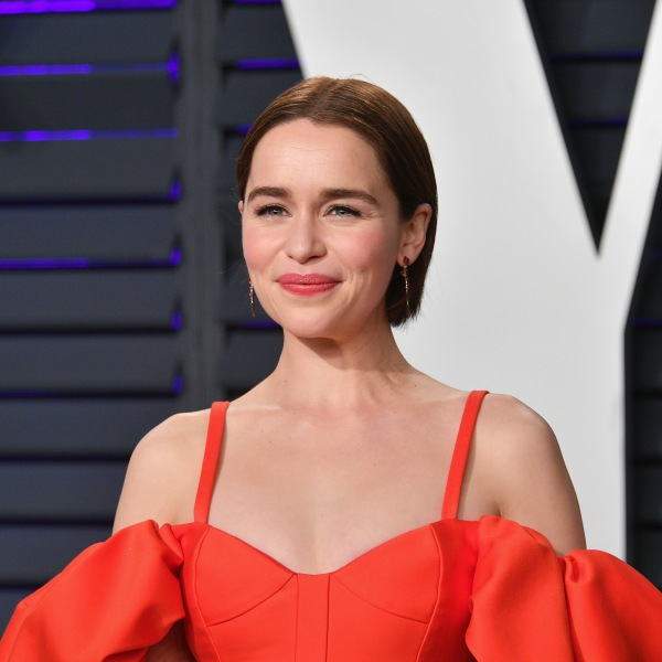 Emilia Clarke attends the 2019 Vanity Fair Oscar Party at Wallis Annenberg Center for the Performing Arts on February 24, 2019 in Beverly Hills. (Credit: Dia Dipasupil/Getty Images)