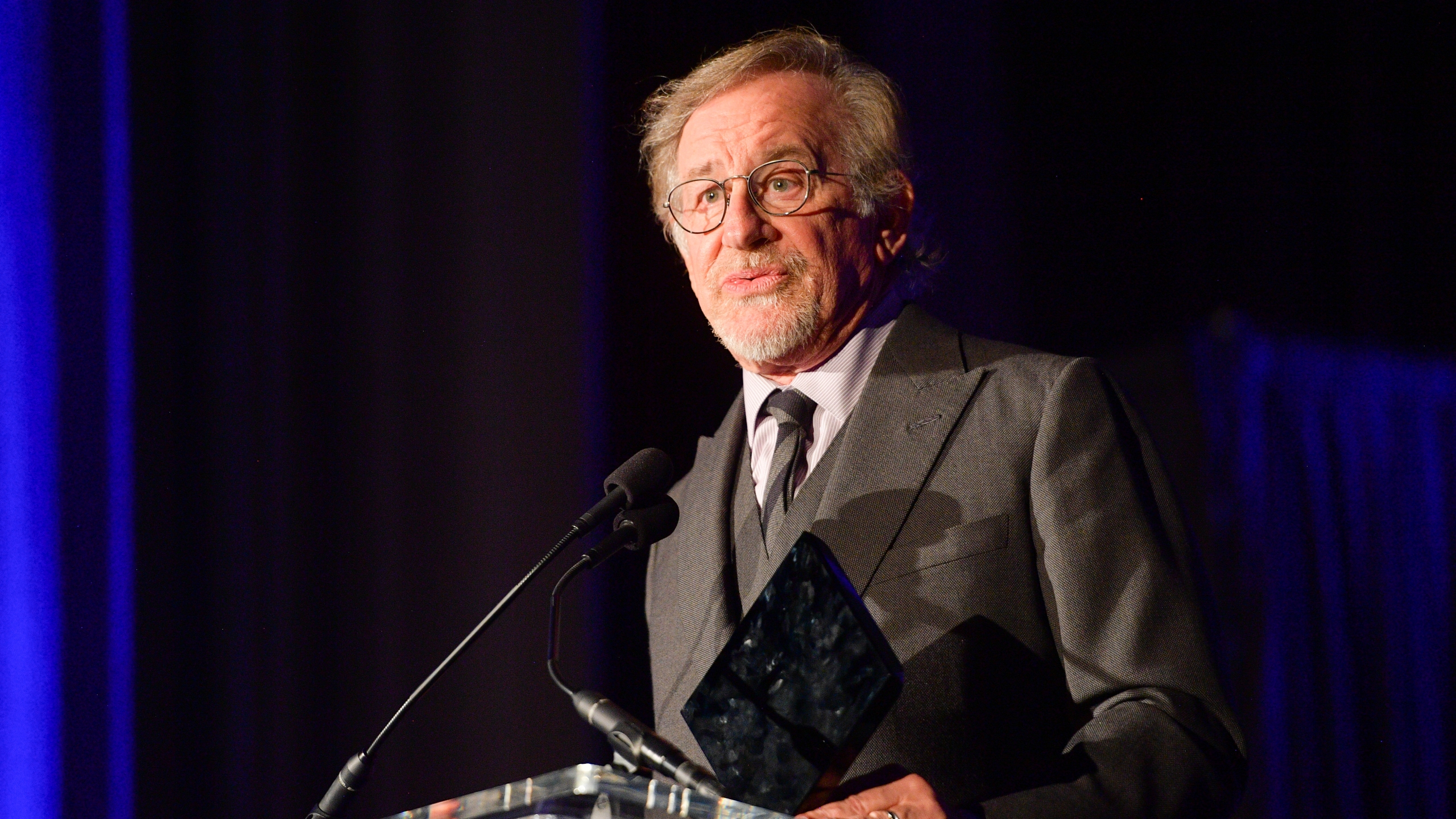 Steven Spielberg attends the 55th Annual Cinema Audio Society Awards at InterContinental Los Angeles Downtown on February 16, 2019 in Los Angeles, California. (Credit: Matt Winkelmeyer/Getty Images)