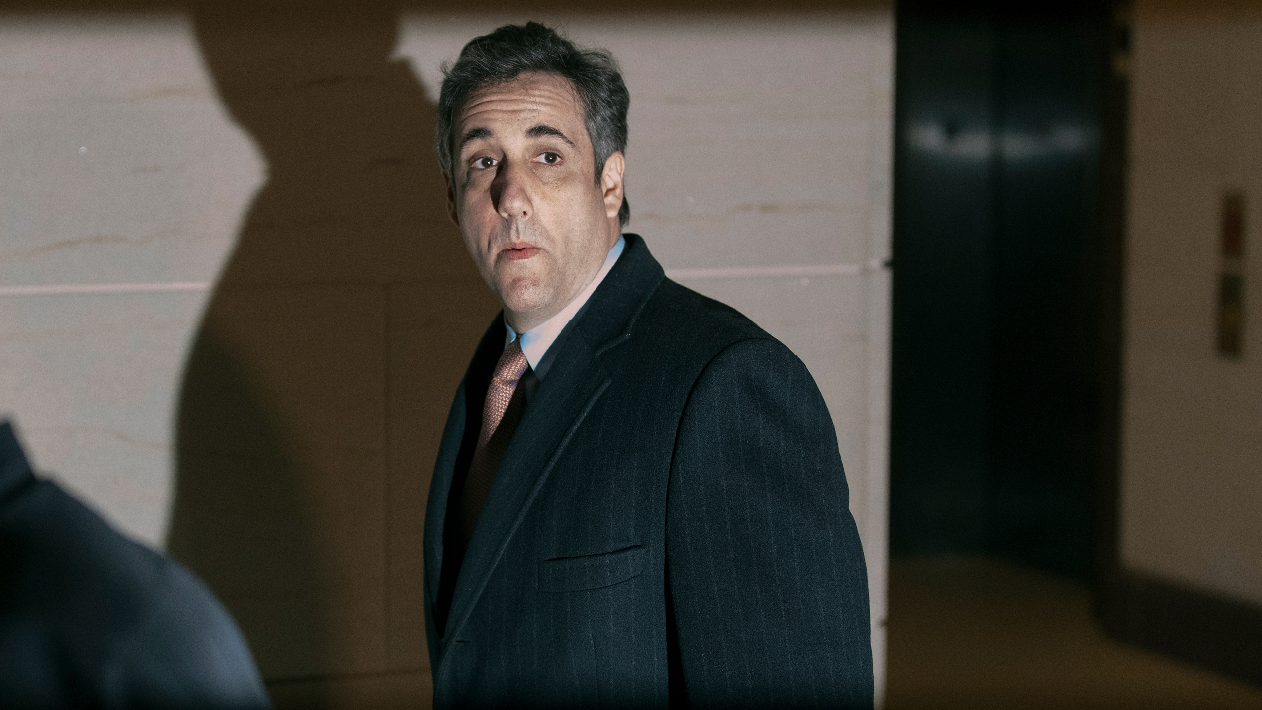 Michael Cohen, former attorney and fixer for President Donald Trump, arrives at the secure offices of the House Intelligence Committee in the basement of the House Visitors Center at the U.S. Capitol March 6, 2019 in Washington, D.C. (Credit: Chip Somodevilla/Getty Images)