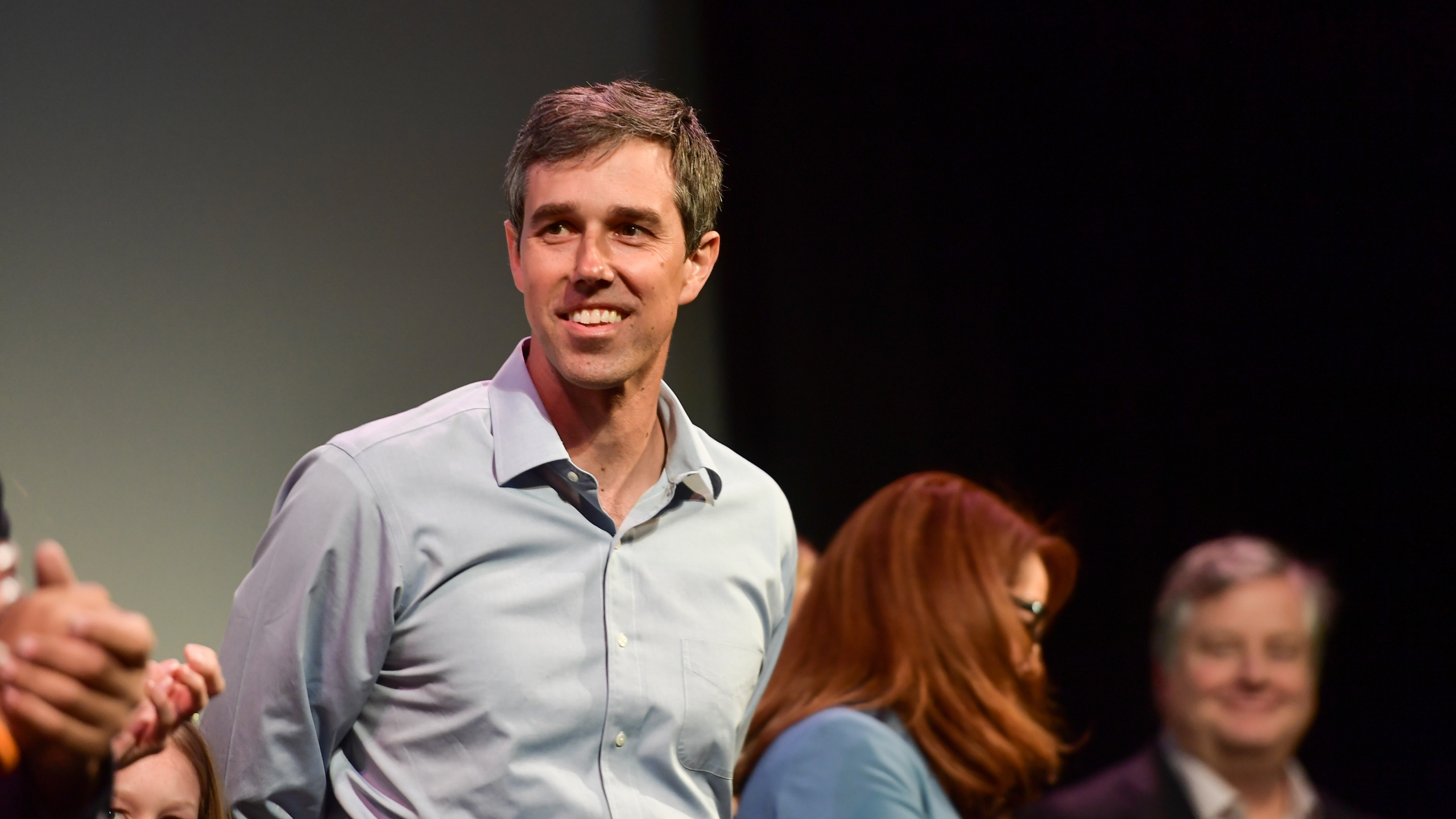 Beto O'Rourke attends the 'Running with Beto' Premiere 2019 SXSW Conference and Festivals at Paramount Theatre on March 09, 2019 in Austin, Texas. (Credit: Matt Winkelmeyer/Getty Images for SXSW)