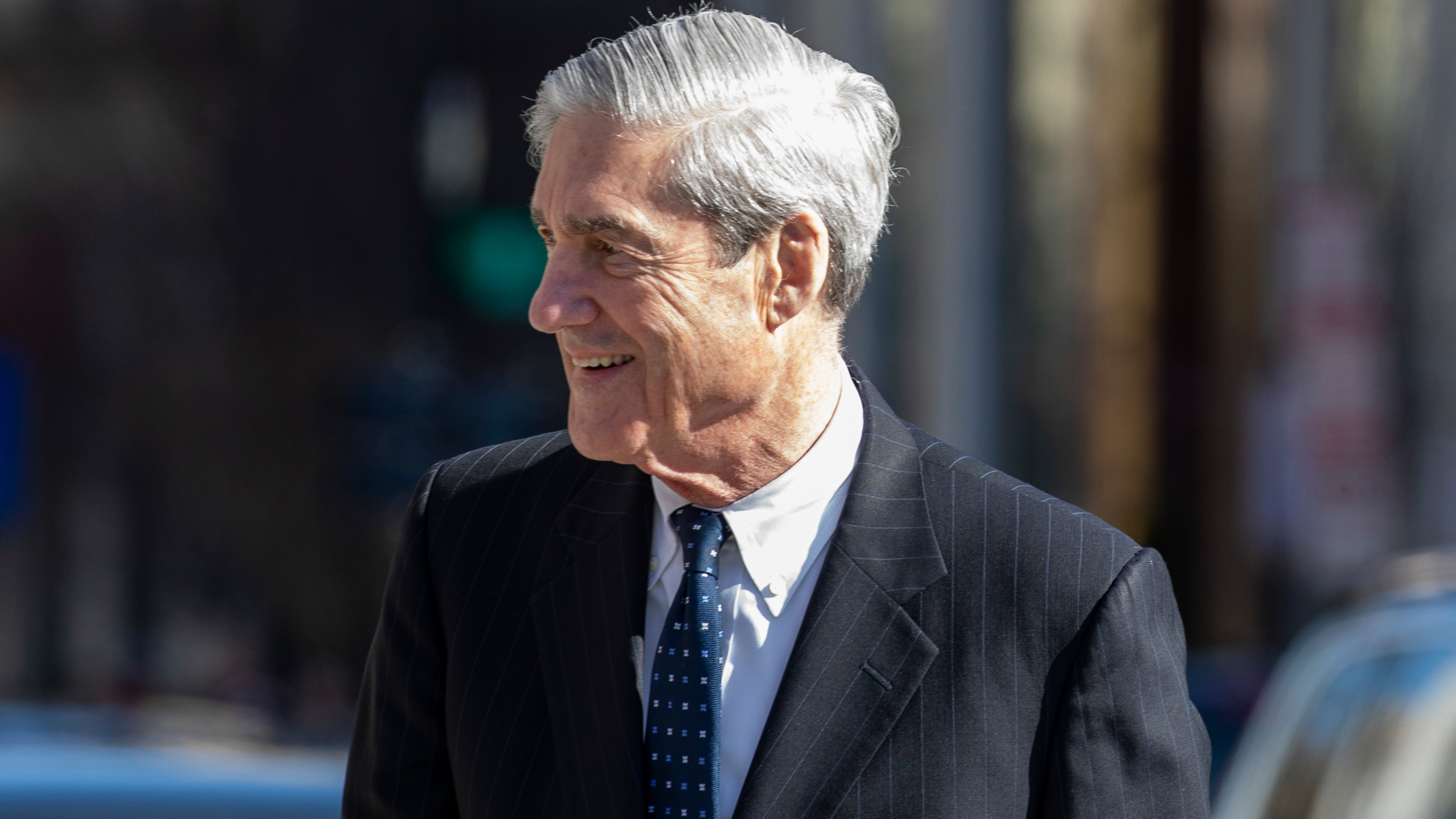 Special Counsel Robert Mueller walks after attending church on March 24, 2019 in Washington, D.C. (Credit: Tasos Katopodis/Getty Images)