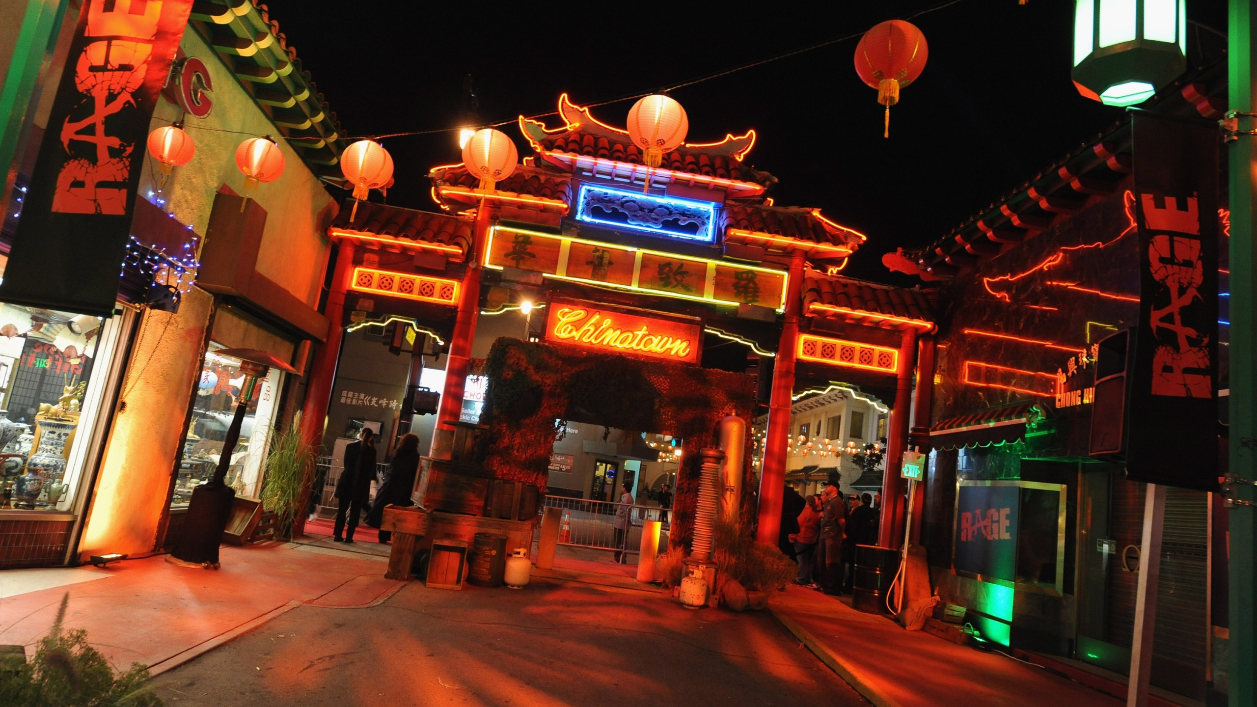 A general view of an area of Chinatown's Historical Central Plaza on Sept. 30, 2011, in Los Angeles. (Credit: Jordan Strauss/Getty Images for Bethesda Softworks)