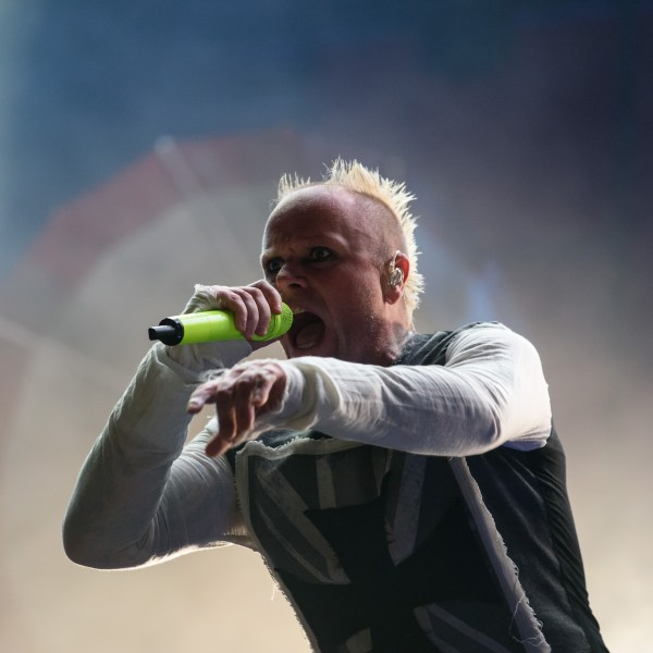 Keith Flint of The Prodigy, performs at the 10th annual Incheon Pentaport Rock Festival in Incheon, west of Seoul on Ausust 9, 2015. (Credit: ED JONES/AFP/Getty Images)