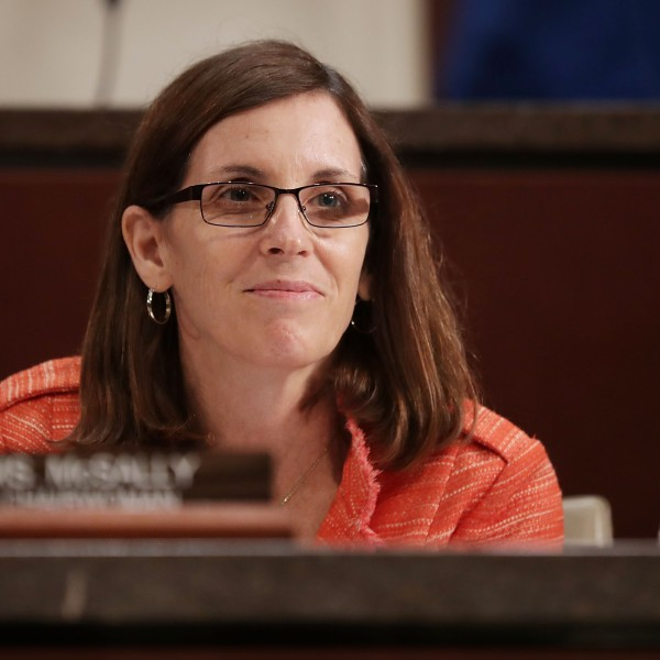 House Homeland Security Committee's Border and Maritime Security Subcommittee Chair Martha McSally (R-AZ) conducts a hearing at the U.S. Capitol May 23, 2017, in Washington, D.C. (Credit: Chip Somodevilla/Getty Images)
