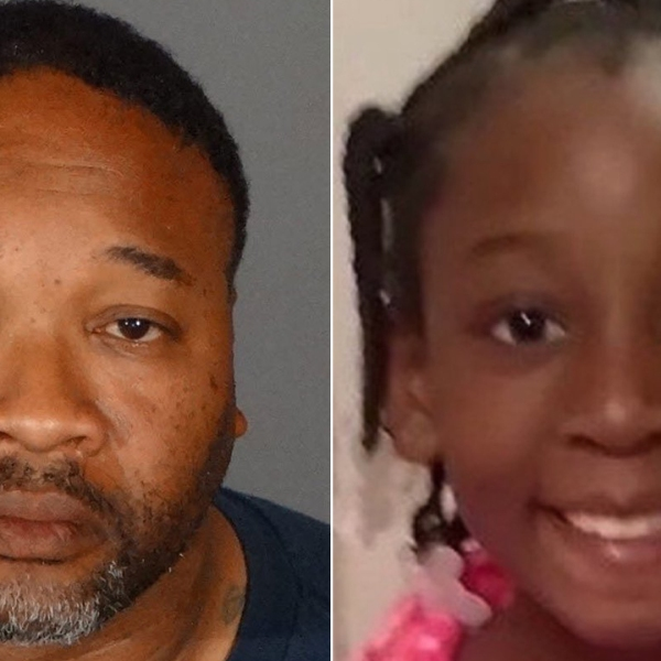 Emiel Hunt and Trinity Love Jones are seen in photos released by the Los Angeles County Sheriff's Department in March 2019.