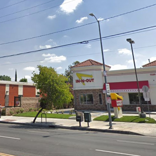 An In-N-Out restaurant in Lake Balboa is seen in this undated image from Google Maps.