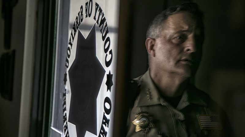 Siskiyou County Sheriff Jon Lopey, seen in this undated photo, says he was offered $1 million to protect illegal marijuana grows located in his county. (Credit: Robert Gauthier / Los Angeles Times)