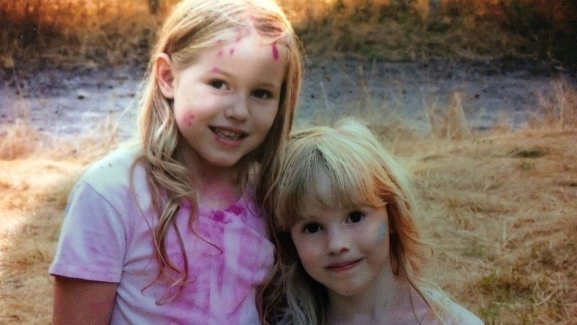 Leia and Caroline Carrico appear in a photo posted on the Humboldt County Sheriff's Office website on March 2, 2019.