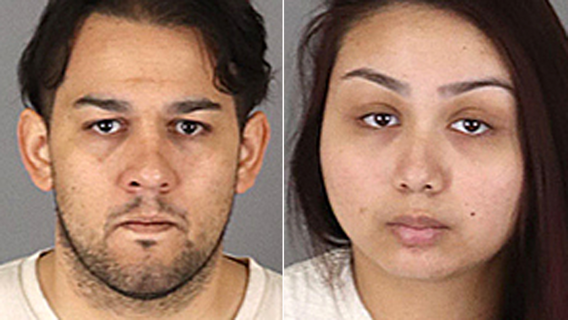 Gregory Brandt (L) and Jasmine Rugga are seen in images provided by the Menifee Police Department.