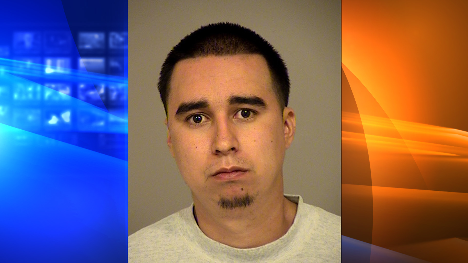 Eric Appel is seen in this booking photo from the Ventura County Sheriff's Office.