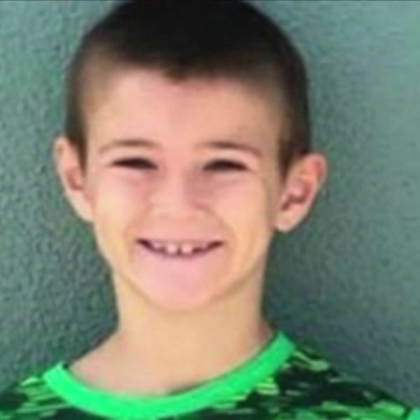 Noah McIntosh is seen in a photo provided by relatives.